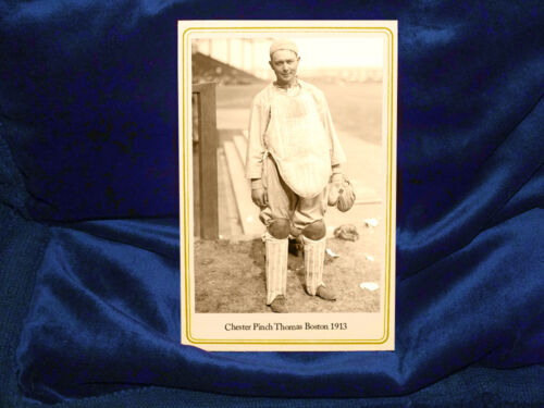 CHESTER PINCH THOMAS 1913 Boston Red Sox Baseball Great Cabinet Card Photograph