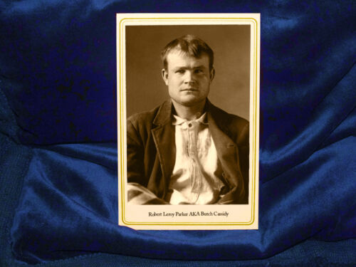 BUTCH CASSIDY Infamous Old West Outlaw Cabinet Card Photo Vintage Reprint