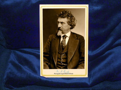 MATHEW BRADY 1875 Photography Legend Vintage Photograph A+ Cabinet Card