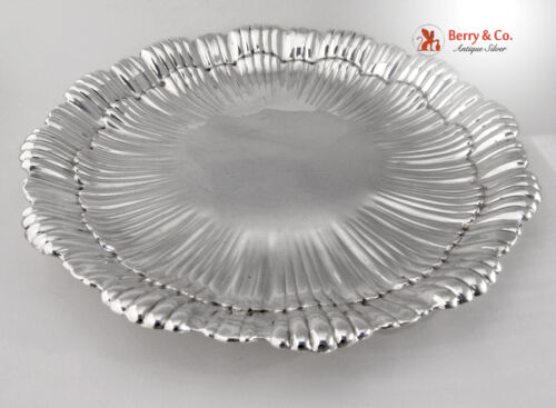 Shell Serving Platter International Sterling Silver WH97