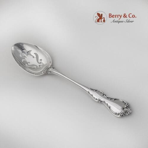 Debussy Serving Spoon Pierced Bowl Towle Sterling Silver 1959