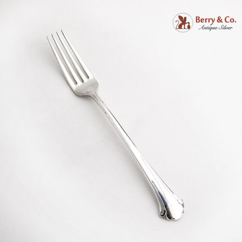 Chippendale Fork Sterling Silver Towle 1937