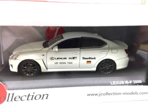 LEXUS IS-F Nurburing Taxi (Timo Glock) Version 1/43 IXO VOITURE DIECAST - JCL095