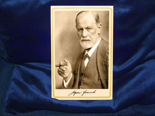 SIGMUND FREUD Founding Father Of Psychoanalysis Cabinet Card Photo Vintage 1870