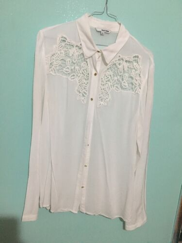 TELLY WEIJL CAMICIA DONNA TAG SIZE 38