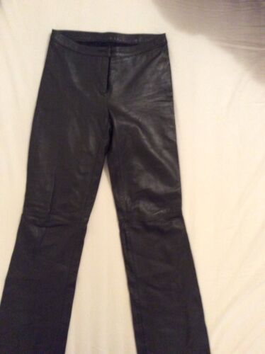Leather trousers for ladies size m