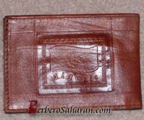 Cheap Handmade genuine leather wallet from Algeria/Morocco style 2
