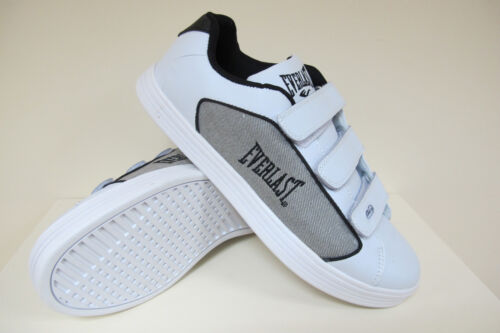 EVERLAST 3 STRAP MENS BOYS CLASSIC FAUX LEATHER TRAINERS SNEAKERS SIZE UK 5 / 38 <br/> IDEAL GIFT / TREAT !!