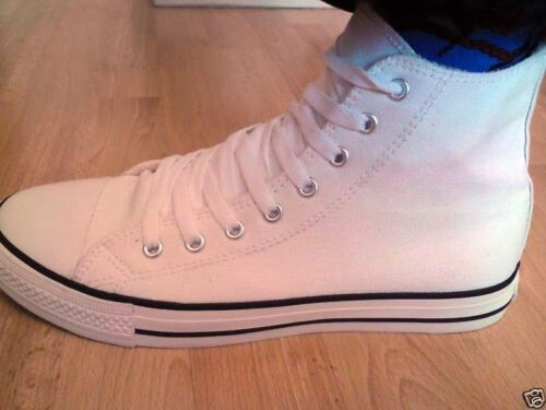 NEW UNISEX RETRO HITOP BASKETBALL BASEBALL BOOTS TRAINERS UK 3 4 5 6 7 8 9 10 11 <br/> IDEAL GIFT / TREAT !!