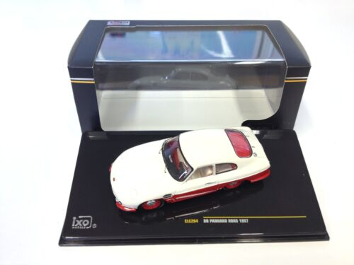 Panhard DB HBR5 1957- Beige and Red - 1:43 IXO VOITURE DIECAST CLC264