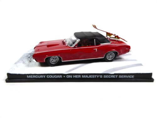 Mercury Cougar James Bond 007 OHMSS - 1:43 Voiture Car DY021