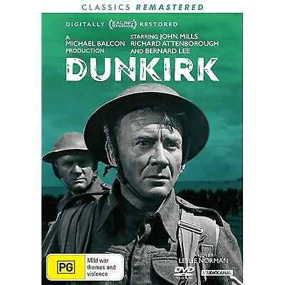 Dunkirk - John Mills DVD New and Sealed
