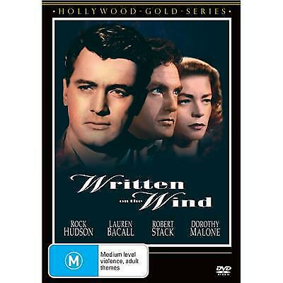 Written On The Wind - Rock Hudson New and Sealed DVD
