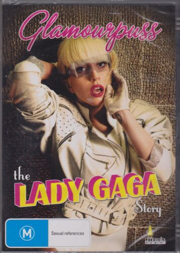 Glamour Puss Lady Gaga Story - Dvd Brand new & sealed
