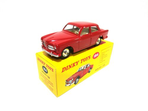 Volvo 122S rouge - DINKY TOYS ATLAS VOITURE MINIATURE - 184