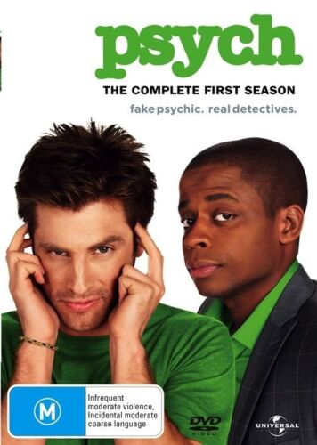 Psych Complete Season 1 - Dvd Like new