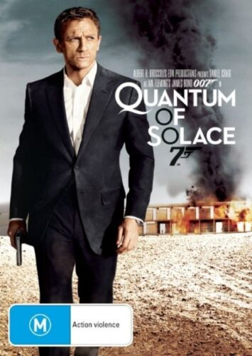 007 Quantum Of Solace (2007) - Dvd Like new