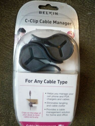 BELKIN - C-CLIP -CABLE MANAGER - 2PACK
