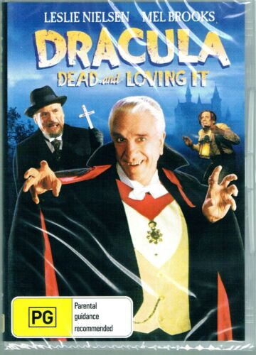 Dracula: Dead and Loving It -  Leslie Nielsen  New and Sealed  DVD