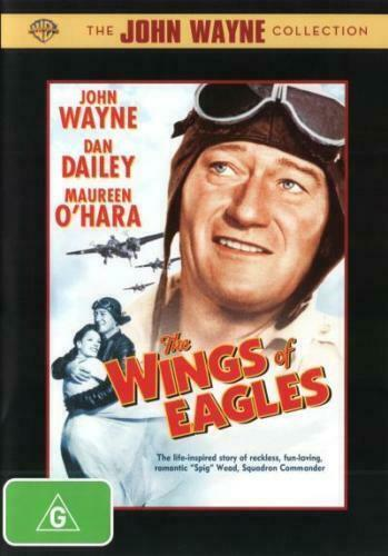 The Wings of Eagles   ( John Wayne ) - New Region All DVD
