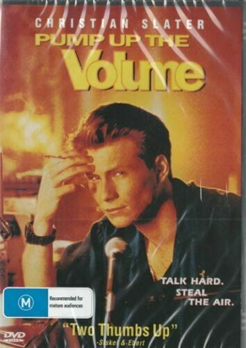Pump Up the Volume ( Christian Slater ) - New Region All DVD