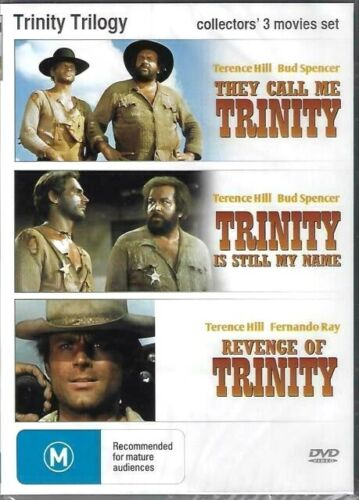 Trinity Trilogy  They Call Me/Still My name/Revenge  - New Sealed Region All DVD
