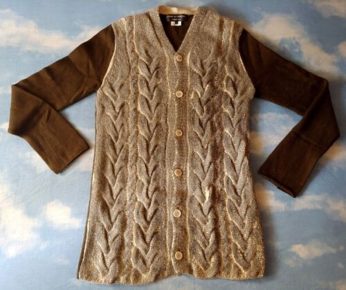 SWEATER cardigan vintage COMME des GARCONS homme plus tg.L  made in Japan  New