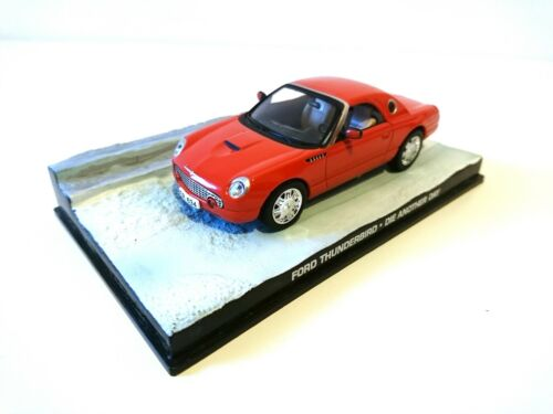 Ford Thunderbird James Bond 007 Die Another day - 1:43 Voiture Model Car DY027