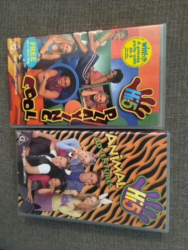 High Five 5 Vhs X Two Playing Cool And Animal Adventures
