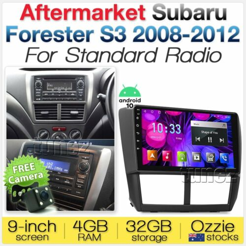 "9"" Android Car MP3 Player For Subaru Impreza G3 Forester S3 GPS Radio Stereo MP4"