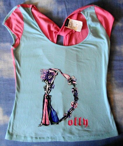 T-SHIRT woman  vintage 90's VERSACE JEANS COUTURE TG.L made Italy Rare