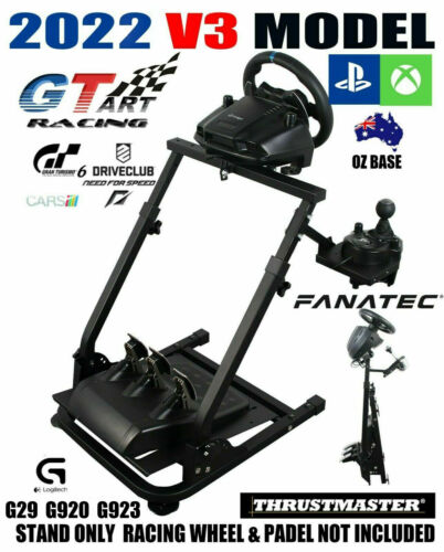 Genuine GT ART Racing Simulator Cockpit Steering Wheel Stand G29 PS4 G920 T300V3
