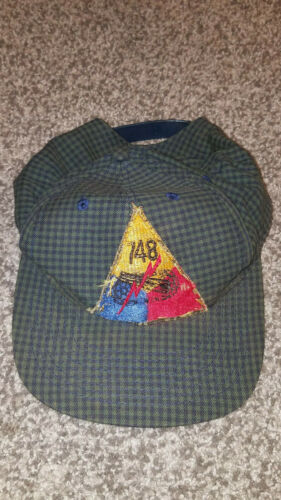 748th WWII Vet Veteran's Adjustable Hat Cap Triangle Patch Army Military WornOther Militaria - 135