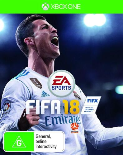 EA Sports FIFA 18 Soccer Football Footy Video Game For Microsoft XBOX One XB1