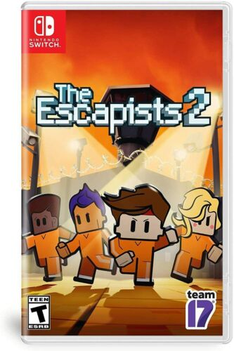 The Escapists 2 Prisoner Escape Crafting RPG Adventure Game Nintendo Switch