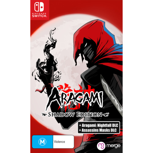 Aragami Shadow Edition Hack & Slash RPG Stealth Assassin Game Nintendo Switch NS