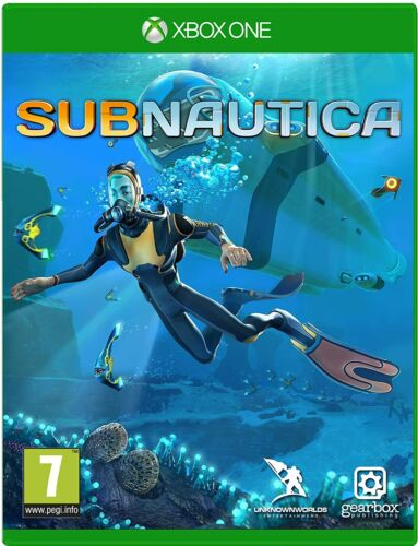 Subnautica Alien Planet Action Adventure Crafting Game Microsoft XBOX One XB1