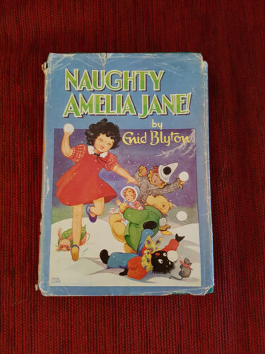 Naughty Amelia Jane! by Enid Blyton Hardback with DJ 1969
