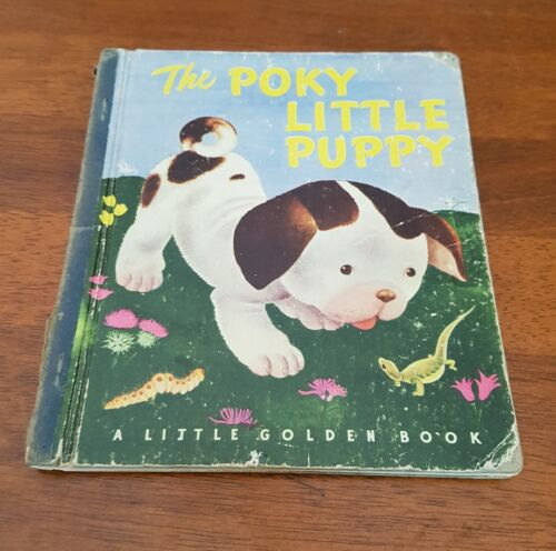 The Poky Little Puppy 1940's Blue Spine Edition