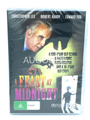 A FEAST AT MIDNIGHT CHRISTOPHER LEE RARE PAL Region ALL PAL DVD NEW SEALED