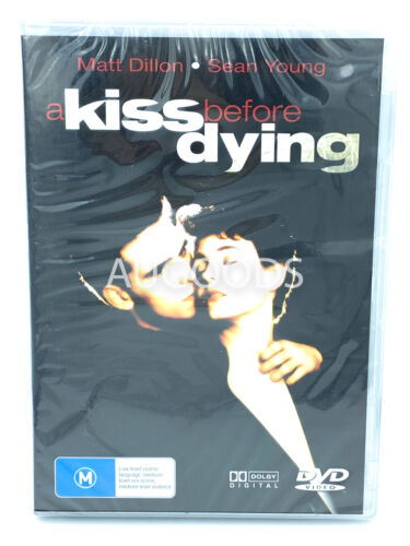 A Kiss Before Dying RARE FILM MOVIE PAL DVD NEW SEALED AUSSIE STOCK