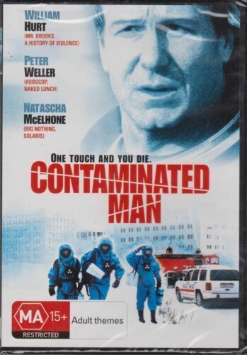 CONTAMINATED MAN WILLIAM HURT PETER WELLER NATASCHA MCELHONE  DVD NEW SEALED