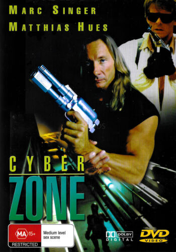 Cyber zone  RARE FILM MOVIE PAL DVD NEW SEALED AUSSIE STOCK