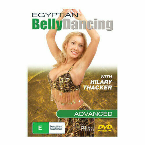 EGYPTIAN BELLY DANCING INTERMEDIAT With Hilary Thacker... .d2118 DVD NEW SEALED