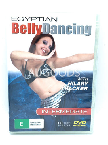 Egyptian Belly Dancing with Hilary Thacker- Intermediate R-ALL  DVD NEW SEALED