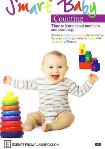 SMART BABY COUNTING TIME TO LEARN ABOUT NUMBERS AND COUNTING  DVD NEW SEALED