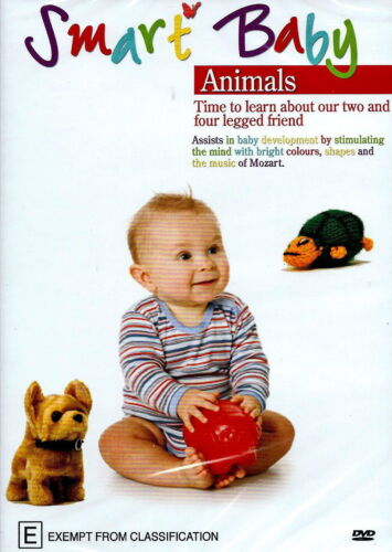 Smart Baby Animals Educational -Educational Series Region All DVD NEW