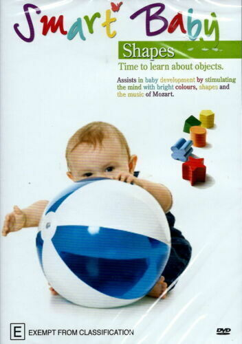 Smart Baby Shapes  RARE FILM MOVIE PAL DVD NEW SEALED AUSSIE STOCK