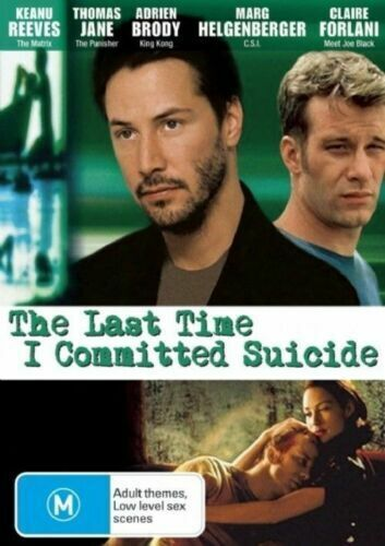 The Last Time I Committed Suicide Keanu Reeves Region 4 - Region 4 DVD NEW