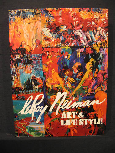 Art & Lifestyle Vintage LeRoy Neiman Book Fantastic First Edition FineArt Detail